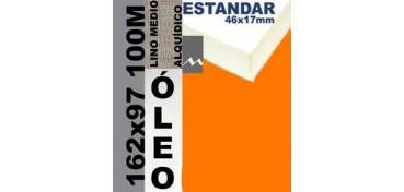 BASTIDOR ESTUDIO 46 X 17 LINO Nº3 (GRANO MEDIO) 162 X 97 100M (ÓLEO)