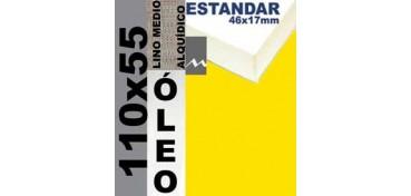 BASTIDOR ESTUDIO 46 X 17 LINO Nº3 (GRANO MEDIO) 110 X 55 (ÓLEO)