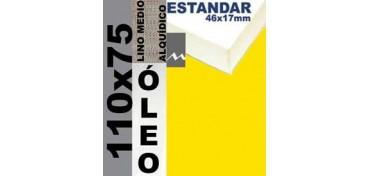 BASTIDOR ESTUDIO 46 X 17 LINO Nº3 (GRANO MEDIO) 110 X 75 (ÓLEO)
