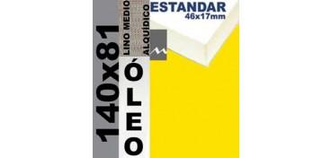 BASTIDOR ESTUDIO 46 X 17 LINO Nº3 (GRANO MEDIO) 140 X 81 (ÓLEO)