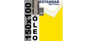 BASTIDOR ESTUDIO 46 X 17 LINO Nº3 (GRANO MEDIO) 150 X 100 (ÓLEO)