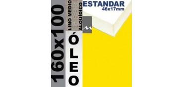 BASTIDOR ESTUDIO 46 X 17 LINO Nº3 (GRANO MEDIO) 160 X 100 (ÓLEO)