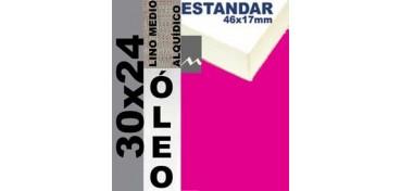 BASTIDOR ESTUDIO 46 X 17 LINO Nº3 (GRANO MEDIO) 30 X 24 (ÓLEO)