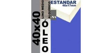 BASTIDOR ESTUDIO 46 X 17 LINO Nº3 (GRANO MEDIO) 40 X 40 (ÓLEO)