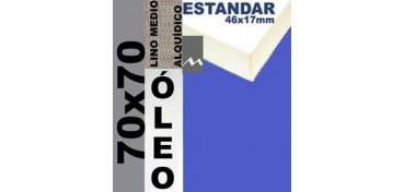 BASTIDOR ESTUDIO 46 X 17 LINO Nº3 (GRANO MEDIO) 70 X 70 (ÓLEO)