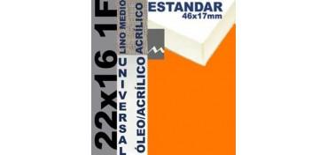 BASTIDOR ESTUDIO 46 X 17 LINO Nº3 (GRANO MEDIO) 22 X 16 1F (ÓLEO/ACRÍLICO)