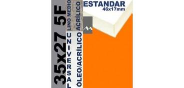 BASTIDOR ESTUDIO 46 X 17 LINO Nº3 (GRANO MEDIO) 35 X 27 5F (ÓLEO/ACRÍLICO)