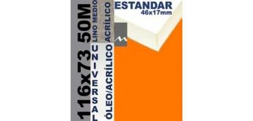 BASTIDOR ESTUDIO 46 X 17 LINO Nº3 (GRANO MEDIO) 116 X 73 50M (ÓLEO/ACRÍLICO)