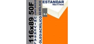 BASTIDOR ESTUDIO 46 X 17 LINO Nº3 (GRANO MEDIO) 116 X 89 50F (ÓLEO/ACRÍLICO)
