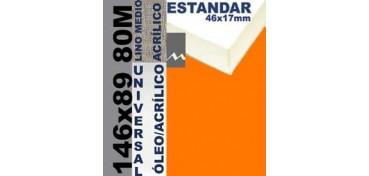 BASTIDOR ESTUDIO 46 X 17 LINO Nº3 (GRANO MEDIO) 146 X 89 80M (ÓLEO/ACRÍLICO)