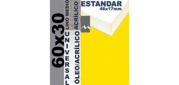 BASTIDOR ESTUDIO 46 X 17 LINO Nº3 (GRANO MEDIO) 60 X 30 (ÓLEO/ACRÍLICO)