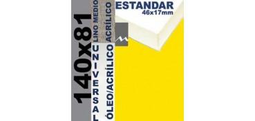 BASTIDOR ESTUDIO 46 X 17 LINO Nº3 (GRANO MEDIO) 140 X 81 (ÓLEO/ACRÍLICO)