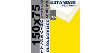BASTIDOR ESTUDIO 46 X 17 LINO Nº3 (GRANO MEDIO) 150 X 75 (ÓLEO/ACRÍLICO)