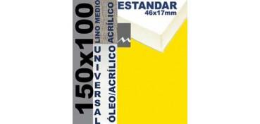 BASTIDOR ESTUDIO 46 X 17 LINO Nº3 (GRANO MEDIO) 150 X 100 (ÓLEO/ACRÍLICO)