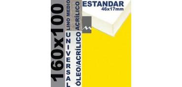 BASTIDOR ESTUDIO 46 X 17 LINO Nº3 (GRANO MEDIO) 160 X 100 (ÓLEO/ACRÍLICO)