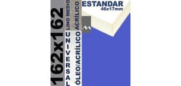 BASTIDOR ESTUDIO 46 X 17 LINO Nº3 (GRANO MEDIO) 162 X 162 (ÓLEO/ACRÍLICO)