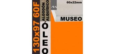 BASTIDOR MUSEO 60 X 22 ALGODÓN Nº2 (GRANO FINO) 130 X 97 60F (ÓLEO)