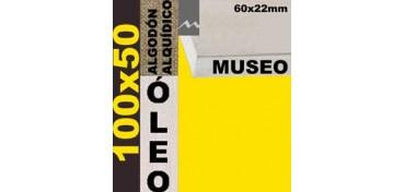 BASTIDOR MUSEO 60 X 22 ALGODÓN Nº2 (GRANO FINO) 100 X 50 (ÓLEO)