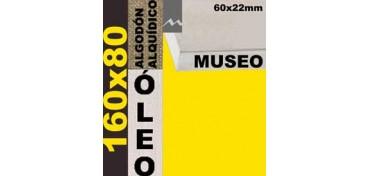 BASTIDOR MUSEO 60 X 22 ALGODÓN Nº2 (GRANO FINO) 160 X 80 (ÓLEO)