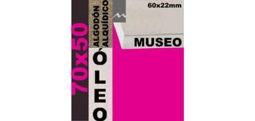 BASTIDOR MUSEO 60 X 22 ALGODÓN Nº2 (GRANO FINO) 70 X 50 (ÓLEO)