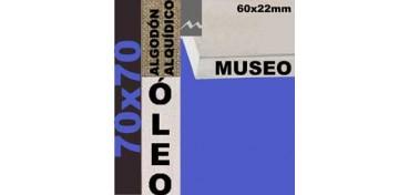 BASTIDOR MUSEO 60 X 22 ALGODÓN Nº2 (GRANO FINO) 70 X 70 (ÓLEO)