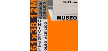 BASTIDOR MUSEO 60 X 22 ALGODÓN Nº2 (GRANO FINO) 61 X 38 12M (ÓLEO/ACRÍLICO)