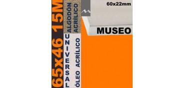 BASTIDOR MUSEO 60 X 22 ALGODÓN Nº2 (GRANO FINO) 65 X 46 15M (ÓLEO/ACRÍLICO)