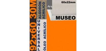 BASTIDOR MUSEO 60 X 22 ALGODÓN Nº2 (GRANO FINO) 92 X 60 30M (ÓLEO/ACRÍLICO)