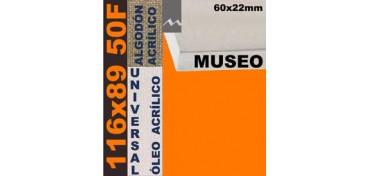BASTIDOR MUSEO 60 X 22 ALGODÓN Nº2 (GRANO FINO) 116 X 89 50F (ÓLEO/ACRÍLICO)