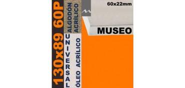 BASTIDOR MUSEO 60 X 22 ALGODÓN Nº2 (GRANO FINO) 130 X 89 60P (ÓLEO/ACRÍLICO)