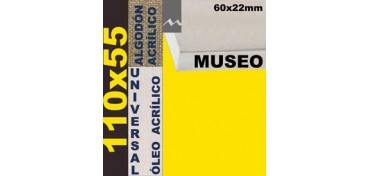 BASTIDOR MUSEO 60 X 22 ALGODÓN Nº2 (GRANO FINO) 110 X 55 (ÓLEO/ACRÍLICO)