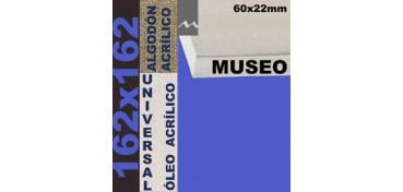 BASTIDOR MUSEO 60 X 22 ALGODÓN Nº2 (GRANO FINO)162 X 162 (ÓLEO/ACRÍLICO)