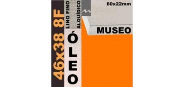 BASTIDOR MUSEO 60 X 22 LINO Nº1 (GRANO FINO) 46 X 38 8F (ÓLEO)