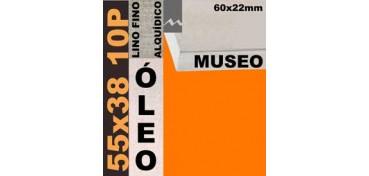 BASTIDOR MUSEO 60 X 22 LINO Nº1 (GRANO FINO) 55 X 38 10P (ÓLEO)