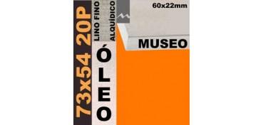 BASTIDOR MUSEO 60 X 22 LINO Nº1 (GRANO FINO) 73 X 60 20F (ÓLEO)