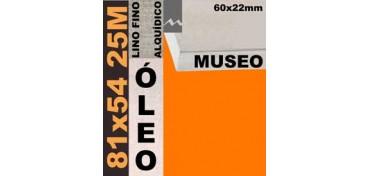 BASTIDOR MUSEO 60 X 22 LINO Nº1 (GRANO FINO) 81 X 54 25M (ÓLEO)