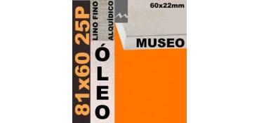BASTIDOR MUSEO 60 X 22 LINO Nº1 (GRANO FINO) 81 X 60 25P (ÓLEO)