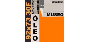 BASTIDOR MUSEO 60 X 22 LINO Nº1 (GRANO FINO) 92 X 73 30F (ÓLEO)