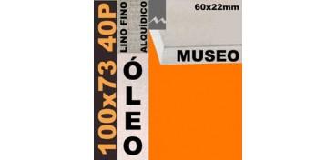BASTIDOR MUSEO 60 X 22 LINO Nº1 (GRANO FINO) 100 X 73 40P (ÓLEO)