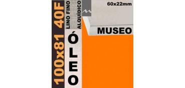 BASTIDOR MUSEO 60 X 22 LINO Nº1 (GRANO FINO) 100 X 81 40F (ÓLEO)