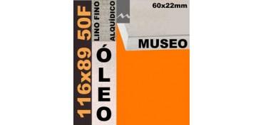 BASTIDOR MUSEO 60 X 22 LINO Nº1 (GRANO FINO) 116 X 89 50F (ÓLEO)