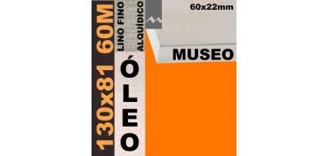 BASTIDOR MUSEO 60 X 22 LINO Nº1 (GRANO FINO) 130 X 81 60M (ÓLEO)