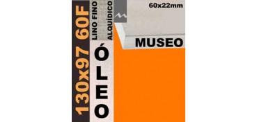 BASTIDOR MUSEO 60 X 22 LINO Nº1 (GRANO FINO) 130 X 97 60F (ÓLEO)