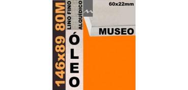 BASTIDOR MUSEO 60 X 22 LINO Nº1 (GRANO FINO) 146 X 89 80M (ÓLEO)
