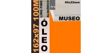 BASTIDOR MUSEO 60 X 22 LINO Nº1 (GRANO FINO) 162 X 97 100M (ÓLEO)