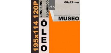 BASTIDOR MUSEO 60 X 22 LINO Nº1 (GRANO FINO) 195 X 114 120P (ÓLEO)