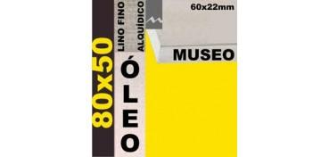 BASTIDOR MUSEO 60 X 22 LINO Nº1 (GRANO FINO) 80 X 50 (ÓLEO)