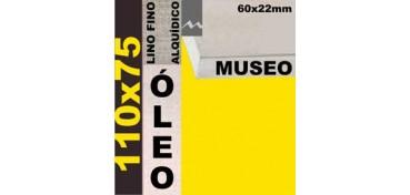 BASTIDOR MUSEO 60 X 22 LINO Nº1 (GRANO FINO) 110 X 75 (ÓLEO)