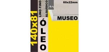 BASTIDOR MUSEO 60 X 22 LINO Nº1 (GRANO FINO) 140 X 81(ÓLEO)