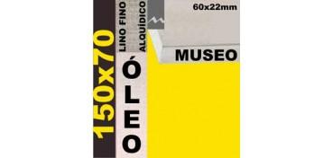 BASTIDOR MUSEO 60 X 22 LINO Nº1 (GRANO FINO) 150 X 70 (ÓLEO)